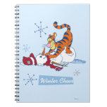 Tigger Winter Cheer Spiral Notebooks