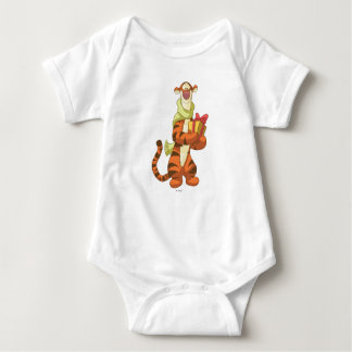 Tigger With Gift Baby Bodysuit