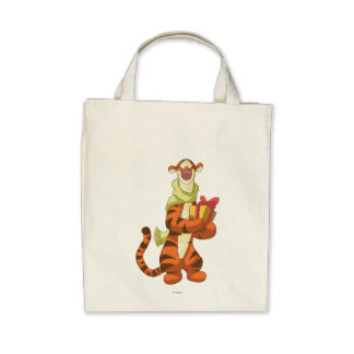 Tigger With Gift Canvas Bag