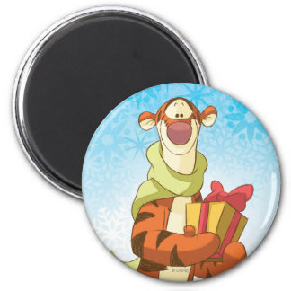Tigger With Gift Magnet