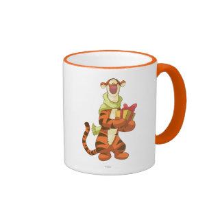 Tigger With Gift Ringer Mug