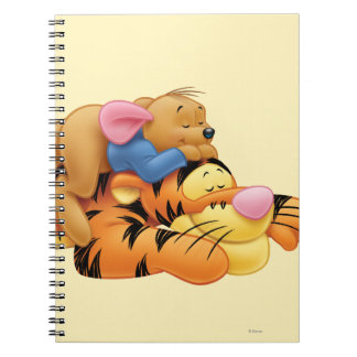 Tigger y Roo Spiral Notebook