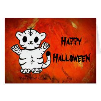 Tiggy-Happy Halloween Greeting Cards