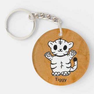 Tiggy Acrylic Keychain