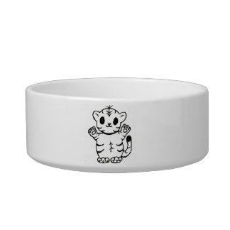 Tiggy Tiger Cub Pet Bowls