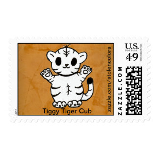 Tiggy Tiger Cub Stamp
