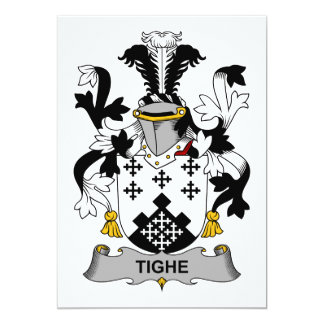 Tighe Family Crest Card