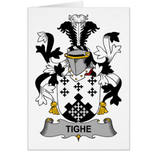 Tighe Family Crest Greeting Card