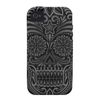 Tight Dark Sugar Skull iPhone 4/4S Covers