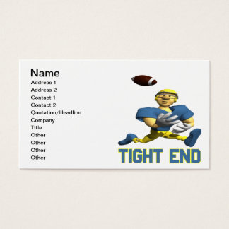 Tight End Business Card