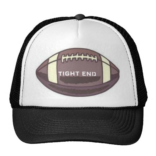 TIGHT END FOOTBALL GRAPHIC PRINT TRUCKER HAT