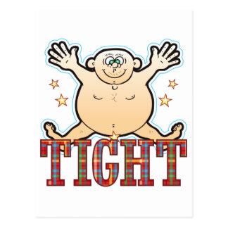 Tight Fat Man Postcard