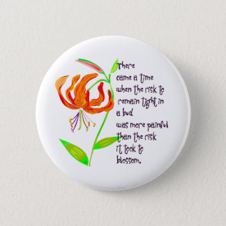 Tight in a Bud Button