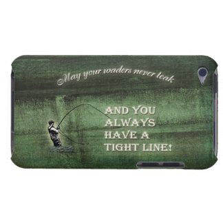 Tight line | waders never leak, Fly fishing wish iPod Case-Mate Case