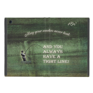 Tight line | waders never leak, Fly fishing wish iPad Mini Cover