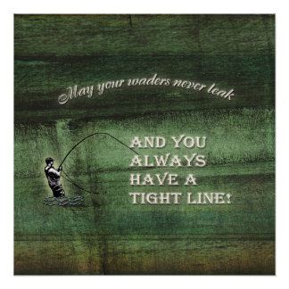 Flyfishing posters zazzle for Fly fishing posters
