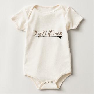 Tight Lines Baby Bodysuit