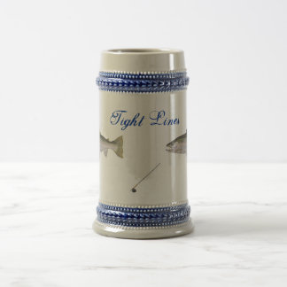 Tight lines Fishing stein