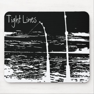 """""""Tight Lines"""" Mouse Pad"""