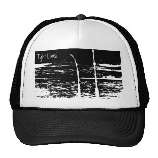 """Tight Lines"" Trucker Cap Trucker Hat"