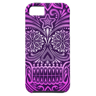 Tight Purple Sugar Skull iPhone SE/5/5s Case