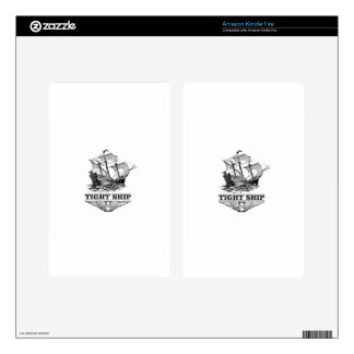 tight ship of sailing kindle fire skins