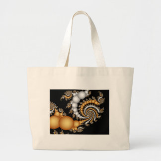Tight Squeez- Fractal Art Tote Bags