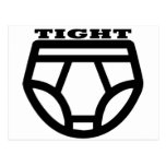 TIGHT - Tighty Whities Postcard