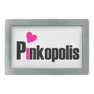 Tighten up with Pink! Rectangular Belt Buckles