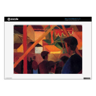 Tightrope by August Macke Acer Chromebook Decals