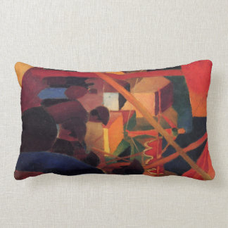 Tightrope by August Macke Throw Pillow