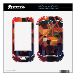 Tightrope by August Macke Skins For The LG Quantum