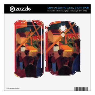 Tightrope by August Macke Decals For Samsung Epic