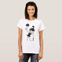 Tightrope girl T-Shirt