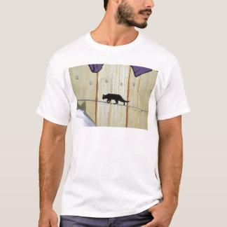 tightrope walking cat T-Shirt