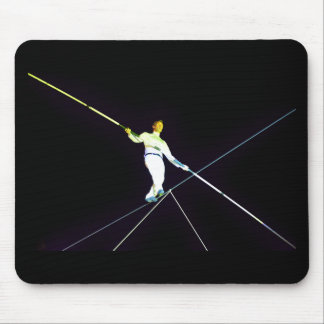 tightrope walking mouse pad