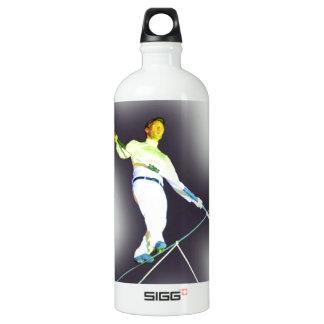tightrope walking SIGG traveler 1.0L water bottle