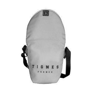 Tignes France Courier Bag