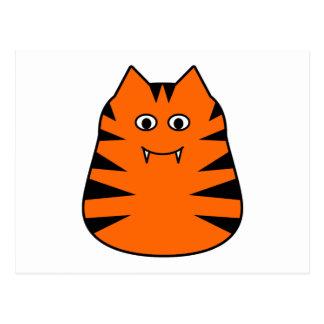 Tigr - Cute Tiger Postcard