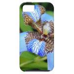 Tigrada blue flower iPhone 5/5S cover