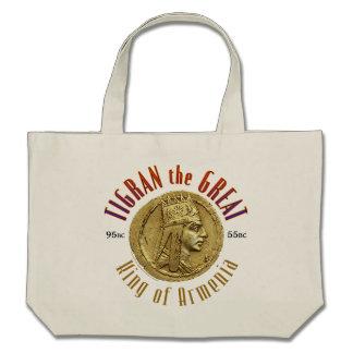 Tigran the Great, King of Armenia Canvas Bags