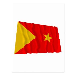 Tigray Waving Flag Postcard