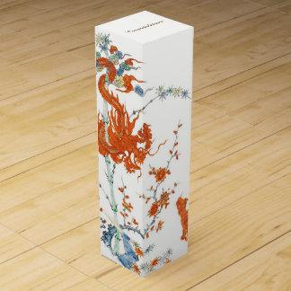 Tigre 1775 del dragón de Kakiemon Caja De Vino