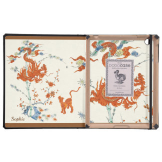 Tigre 1775 del dragón de Kakiemon iPad Protectores
