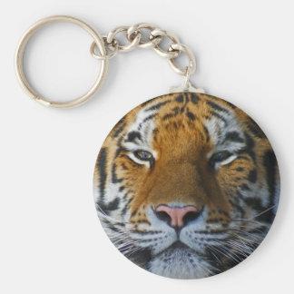 Tigre 1 llavero redondo tipo pin