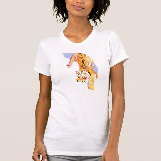 Tigre Abstact Camiseta