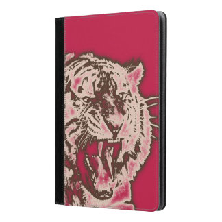 Tigre abstracto de Borgoña del Grunge