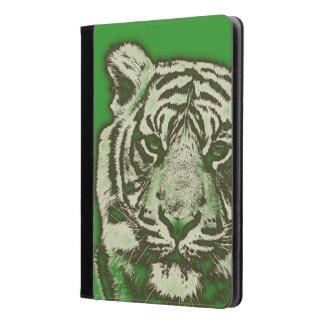 Tigre abstracto verde del Grunge