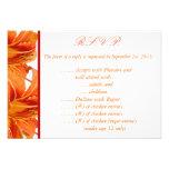tigre anaranjado Lilly w/St de la tarjeta de conte Comunicados Personales