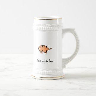 Tigre anaranjado taza